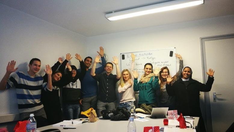 Cursurile noastre de limbă în Cologne