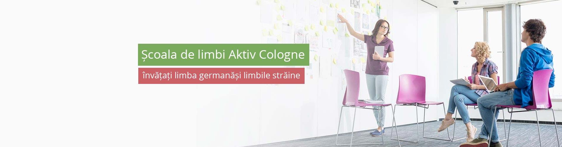 Școala de limbi Aktiv Cologne – învățați limba germanăși limbile străine